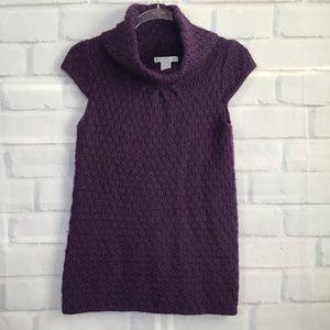 Design History Purple Cowl Neck Sweater